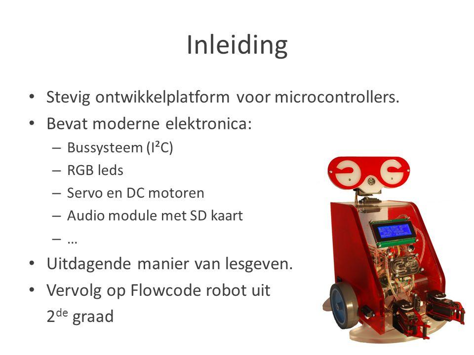 Inleiding Stevig ontwikkelplatform voor microcontrollers.