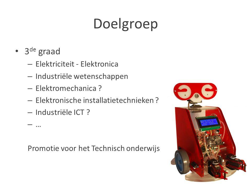 Doelgroep 3de graad Elektriciteit - Elektronica