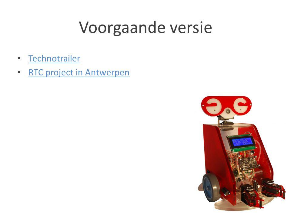 Voorgaande versie Technotrailer RTC project in Antwerpen