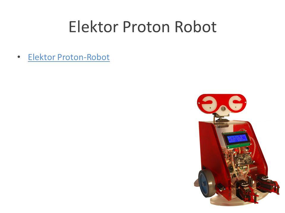 Elektor Proton Robot Elektor Proton-Robot