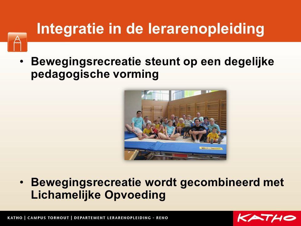 Integratie in de lerarenopleiding