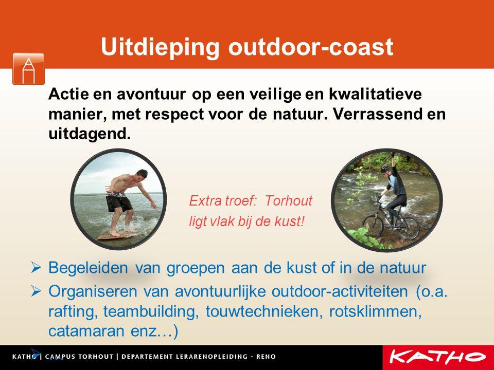 Uitdieping outdoor-coast