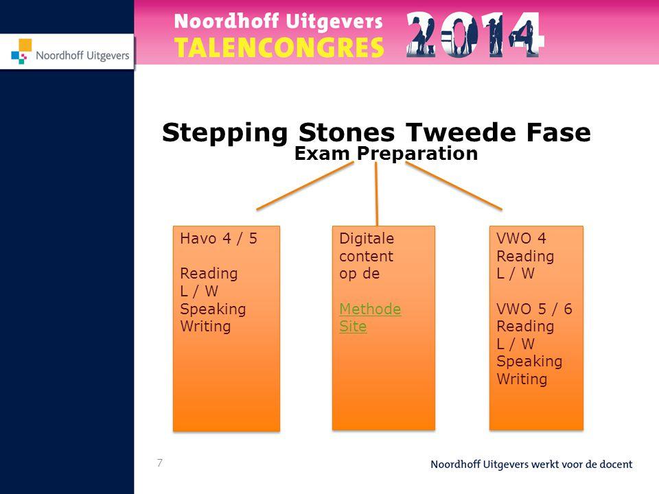 Stepping Stones Tweede Fase