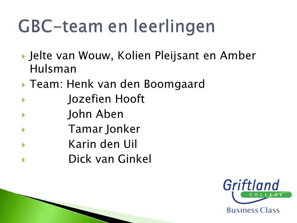 GBC-team en leerlingen