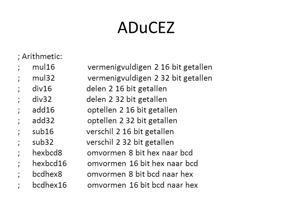 ADuCEZ