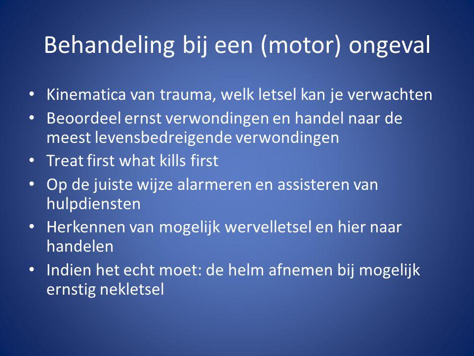 Behandeling bij een (motor) ongeval