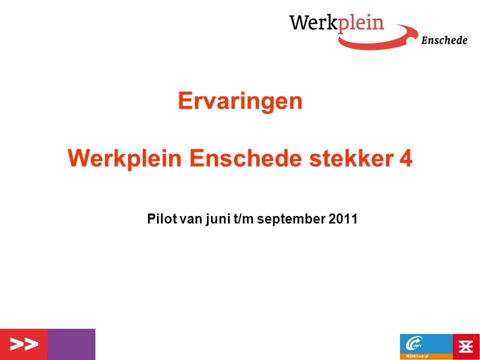 Ervaringen Werkplein Enschede stekker 4