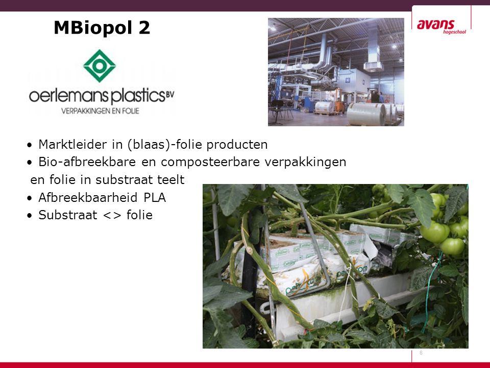 MBiopol 2 Marktleider in (blaas)-folie producten