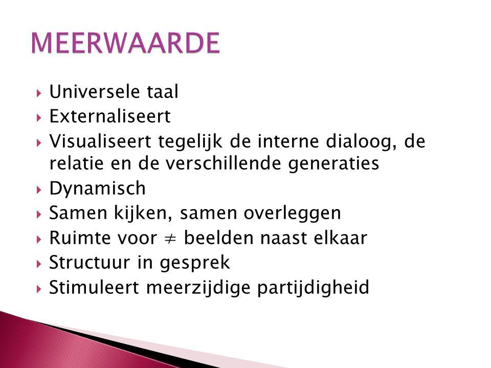 MEERWAARDE Universele taal Externaliseert