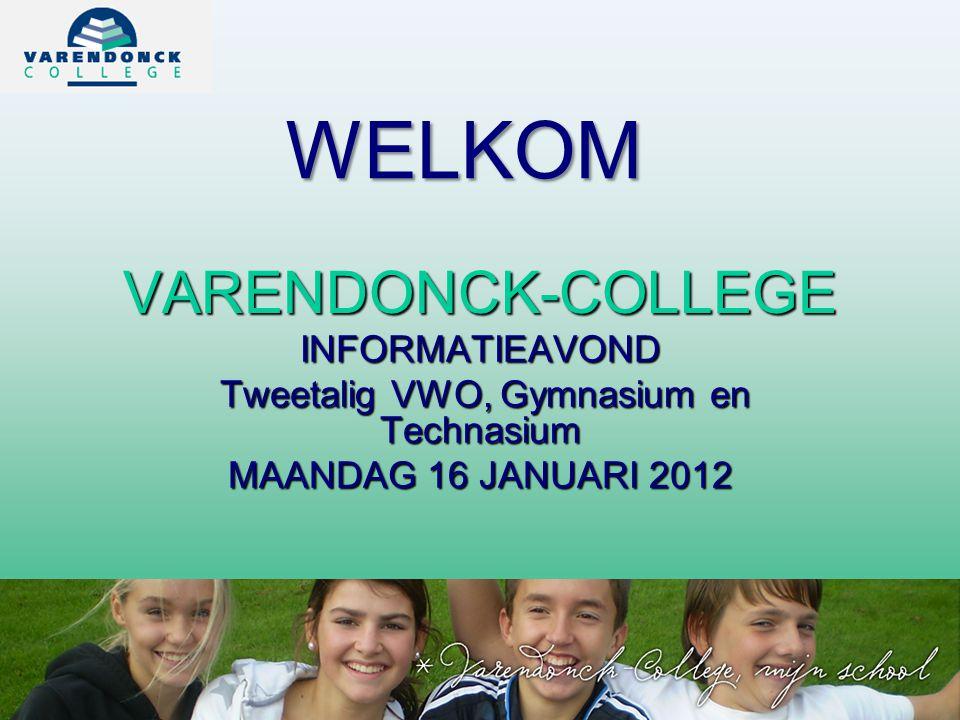 Tweetalig VWO, Gymnasium en Technasium
