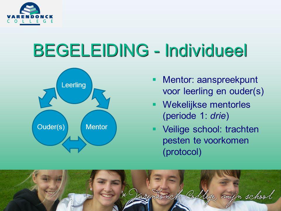 BEGELEIDING - Individueel
