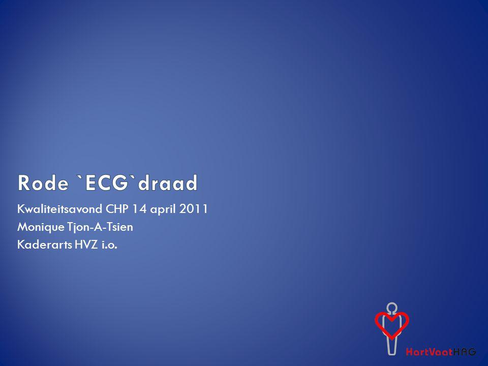 Rode `ECG`draad Kwaliteitsavond CHP 14 april 2011 Monique Tjon-A-Tsien