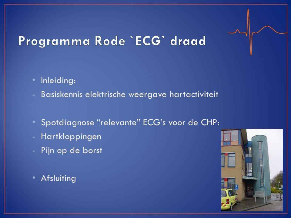 Programma Rode `ECG` draad