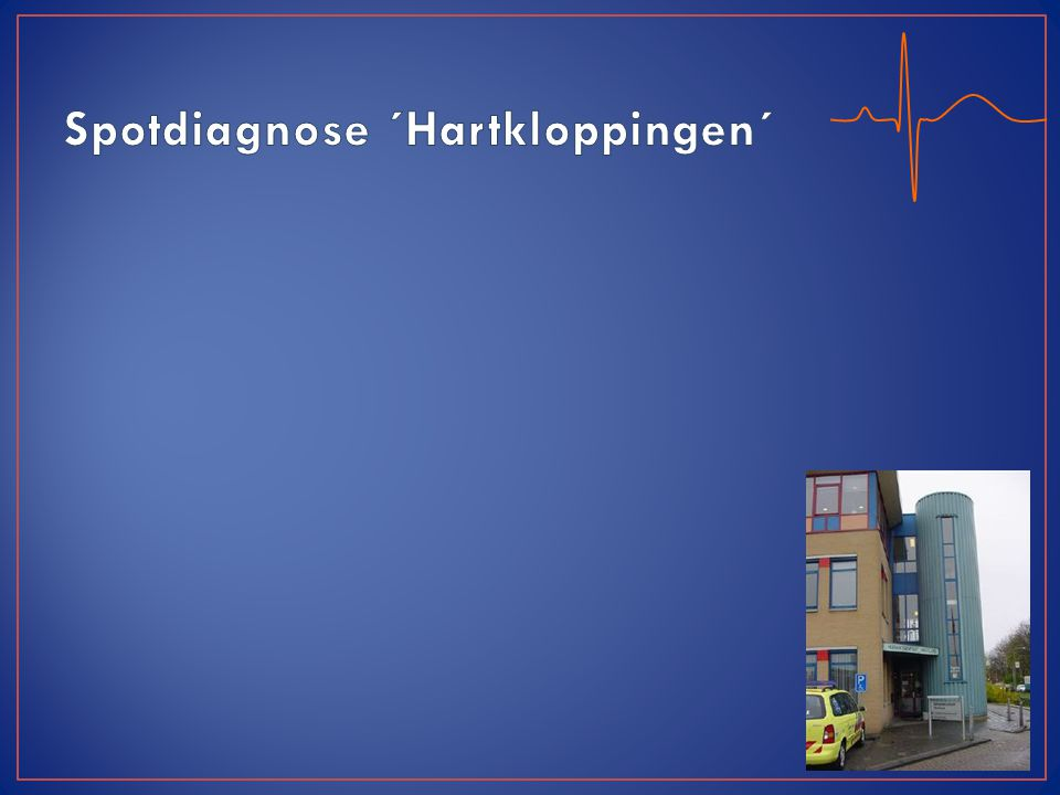 Spotdiagnose ´Hartkloppingen´