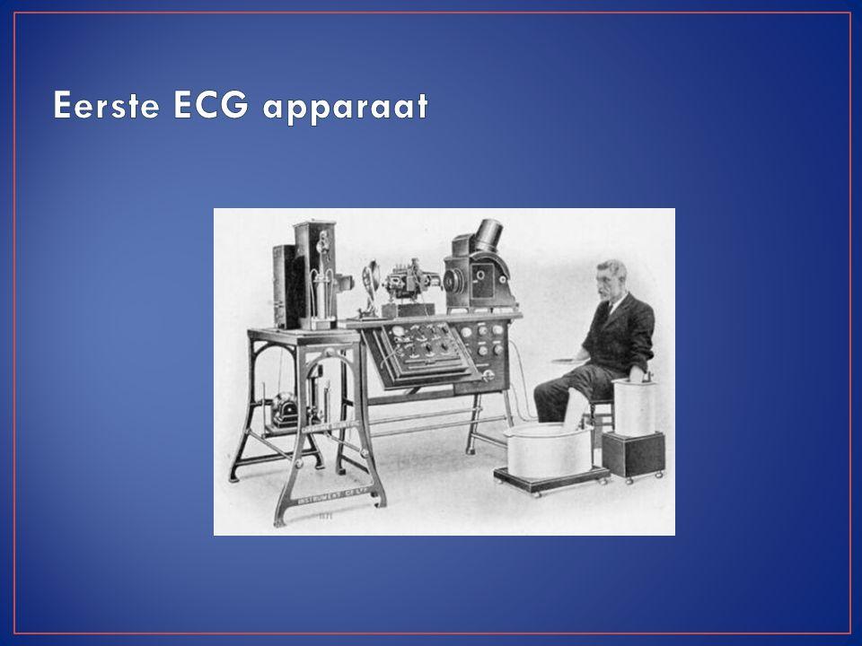 Eerste ECG apparaat