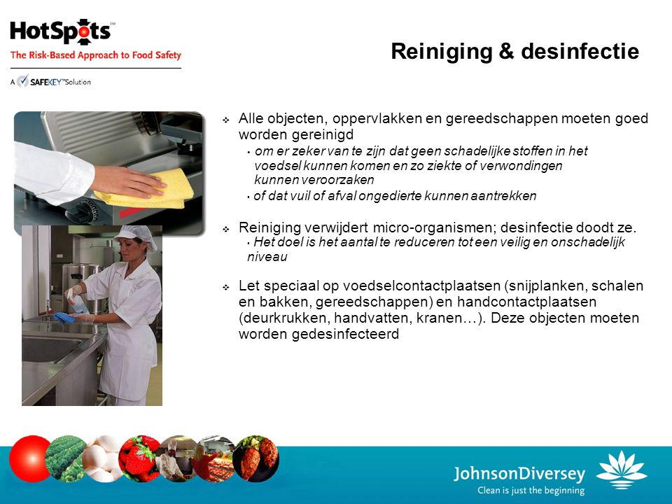 Reiniging & desinfectie