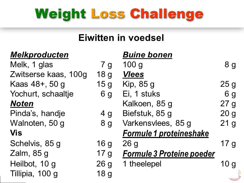 Eiwitten in voedsel Formule 1 proteineshake Formule 3 Proteine poeder