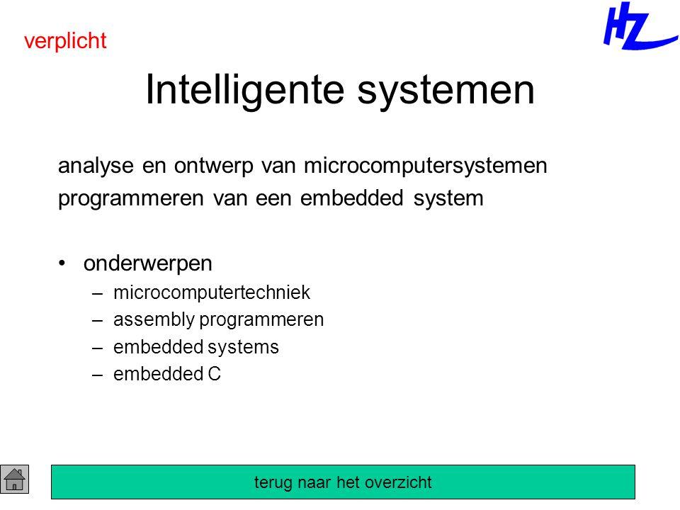 Intelligente systemen