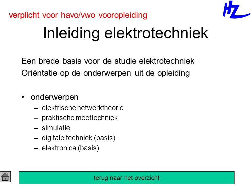 Inleiding elektrotechniek