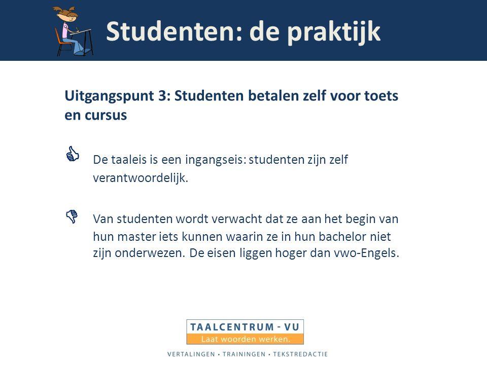 Studenten: de praktijk