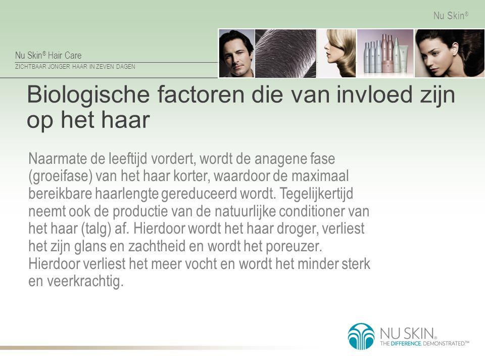Biologische factoren die van invloed zijn op het haar