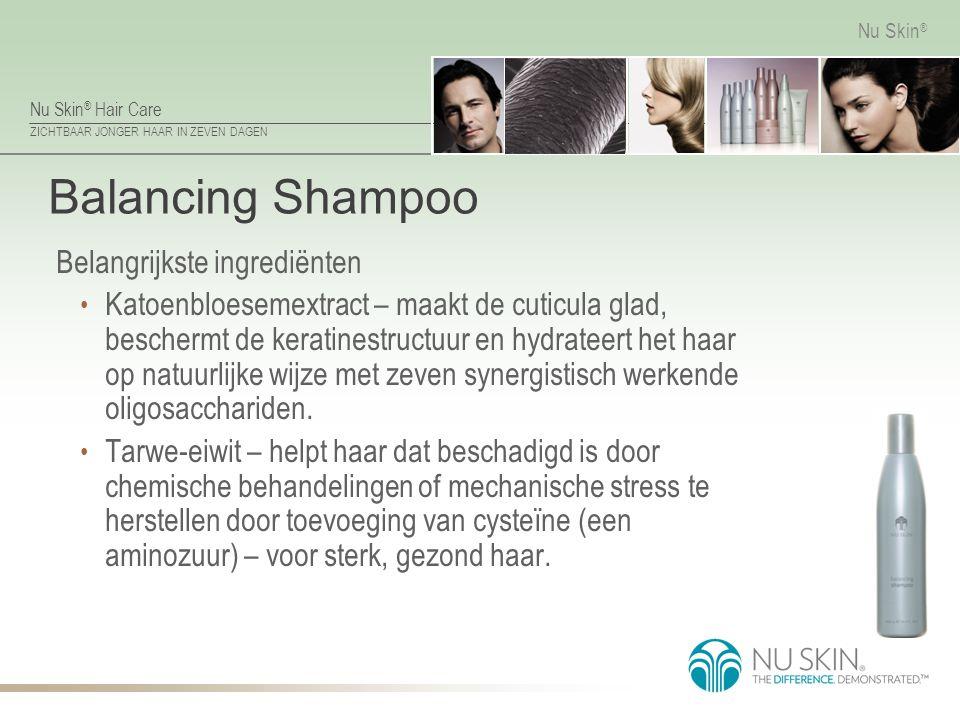 Balancing Shampoo Belangrijkste ingrediënten