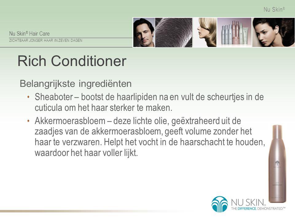 Rich Conditioner Belangrijkste ingrediënten