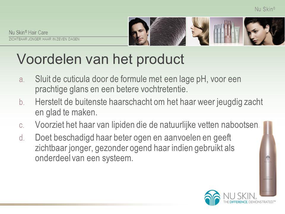 Voordelen van het product