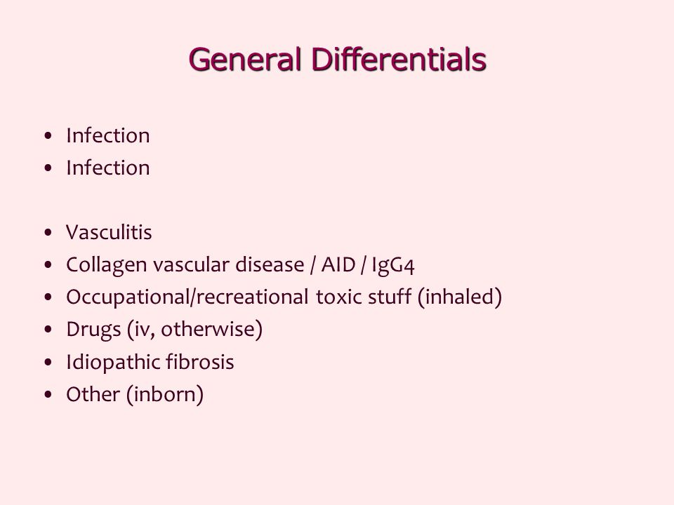 General Differentials