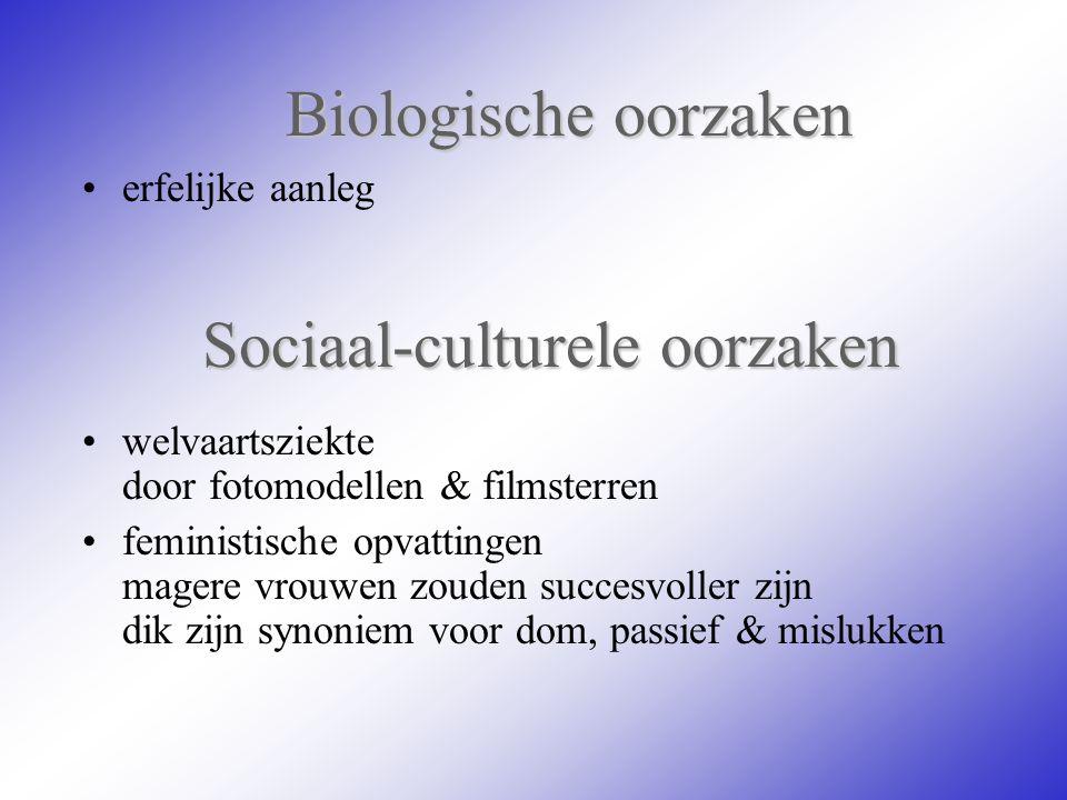 Sociaal-culturele oorzaken