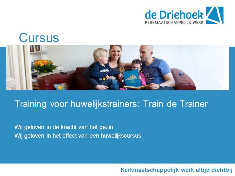 Cursus Training voor huwelijkstrainers: Train de Trainer