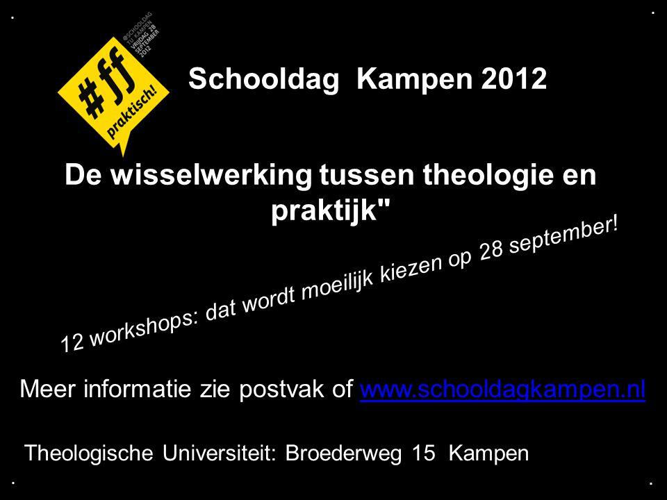 De wisselwerking tussen theologie en praktijk