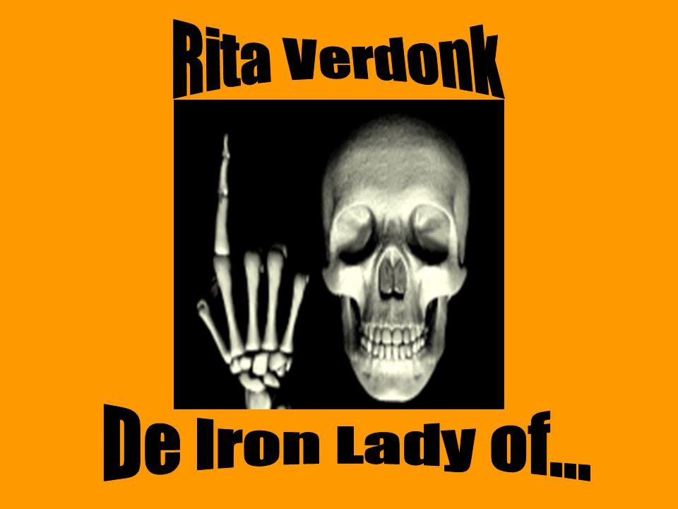Rita Verdonk De Iron Lady of...