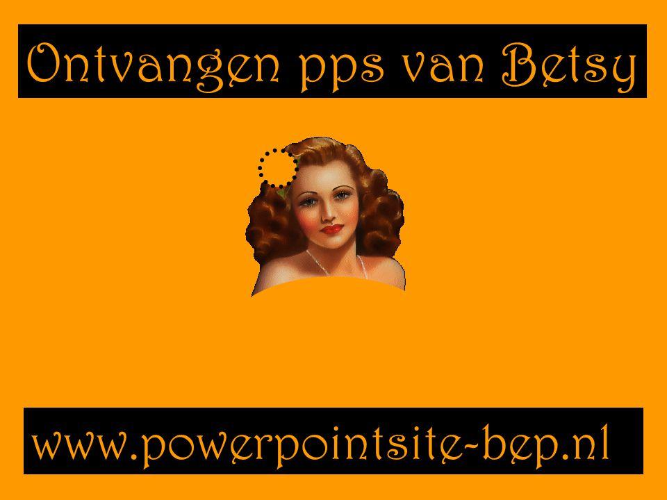 Ontvangen pps van Betsy