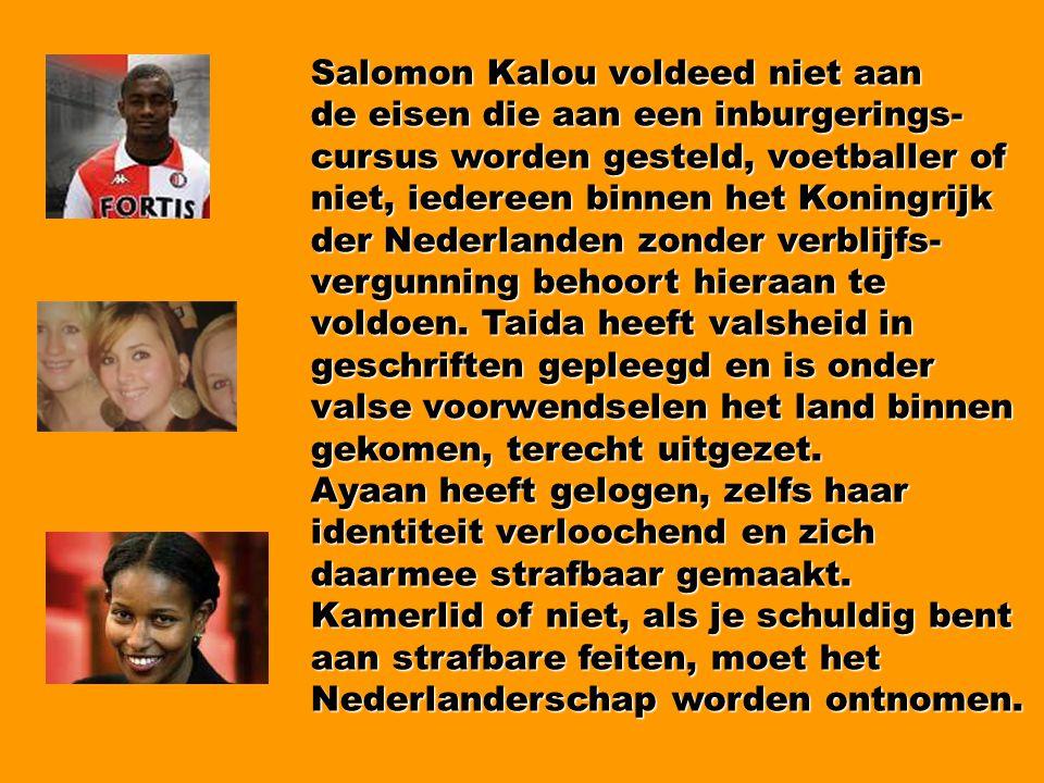 Salomon Kalou voldeed niet aan