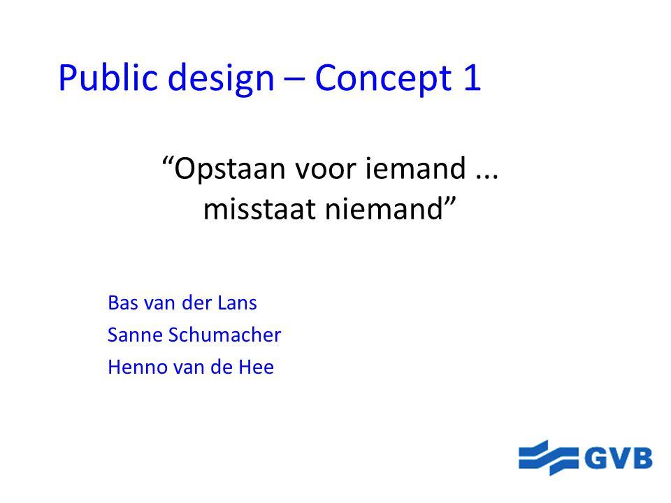 Public design – Concept 1