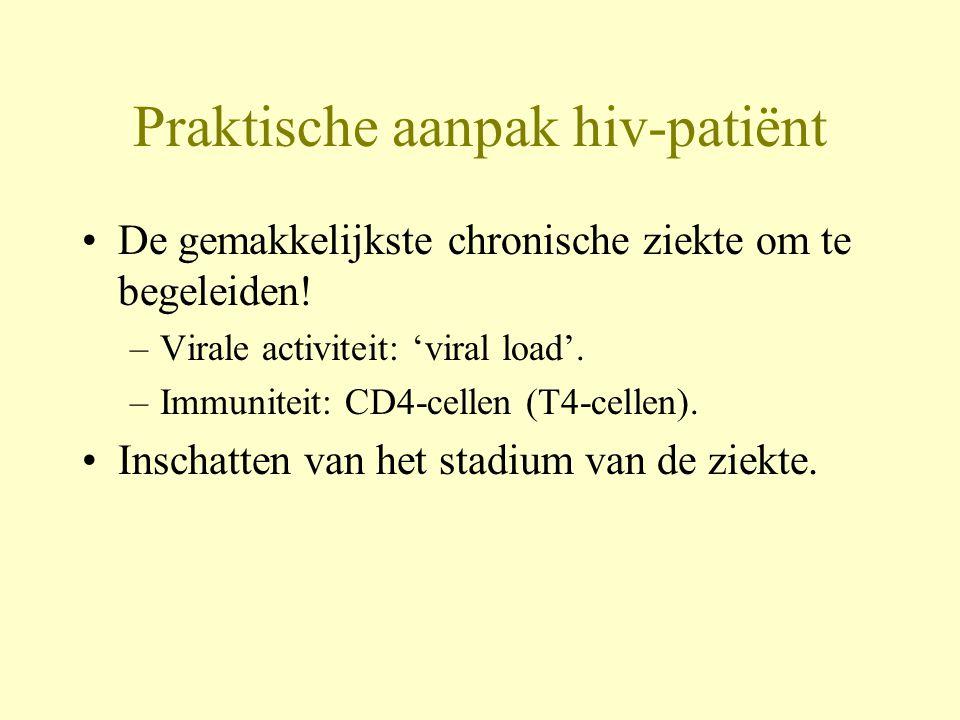 Praktische aanpak hiv-patiënt
