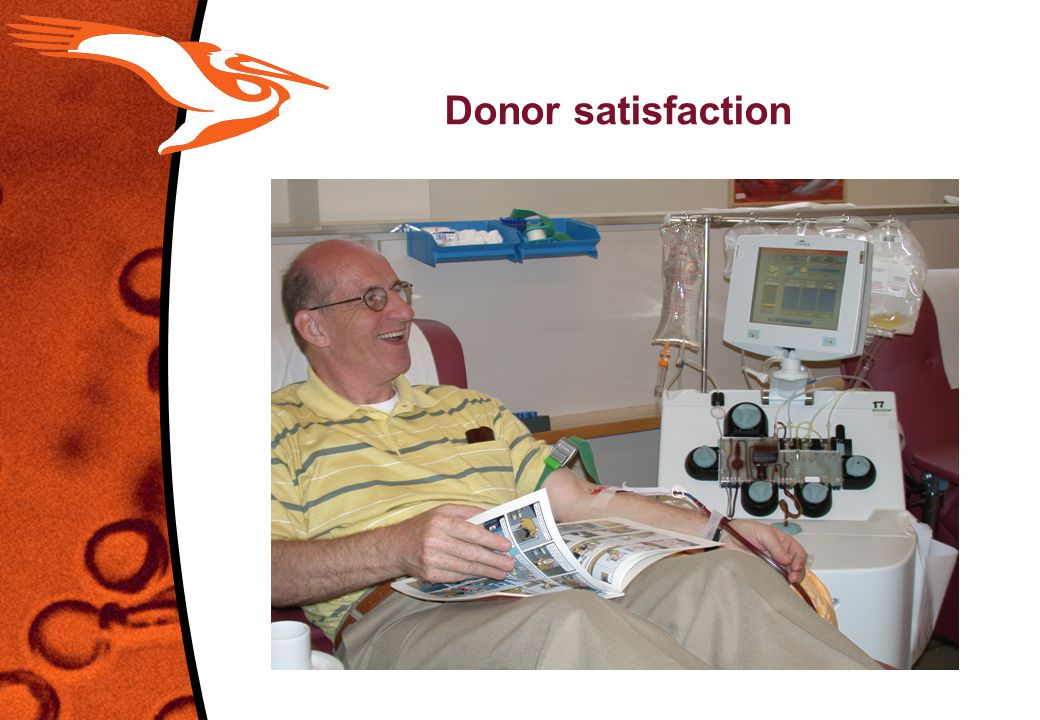 Donor satisfaction