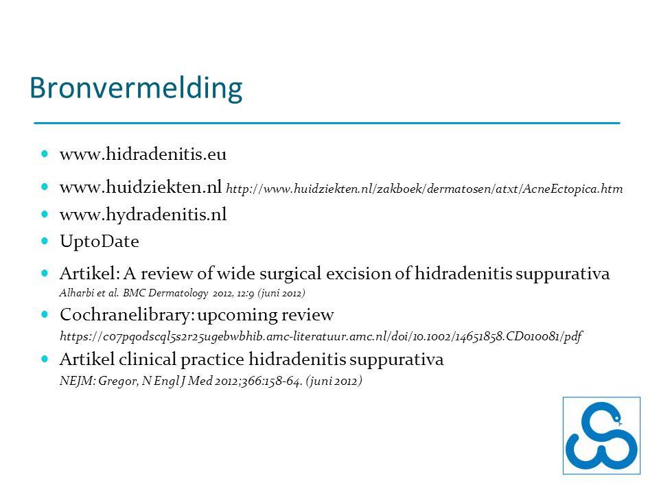Bronvermelding www.hidradenitis.eu