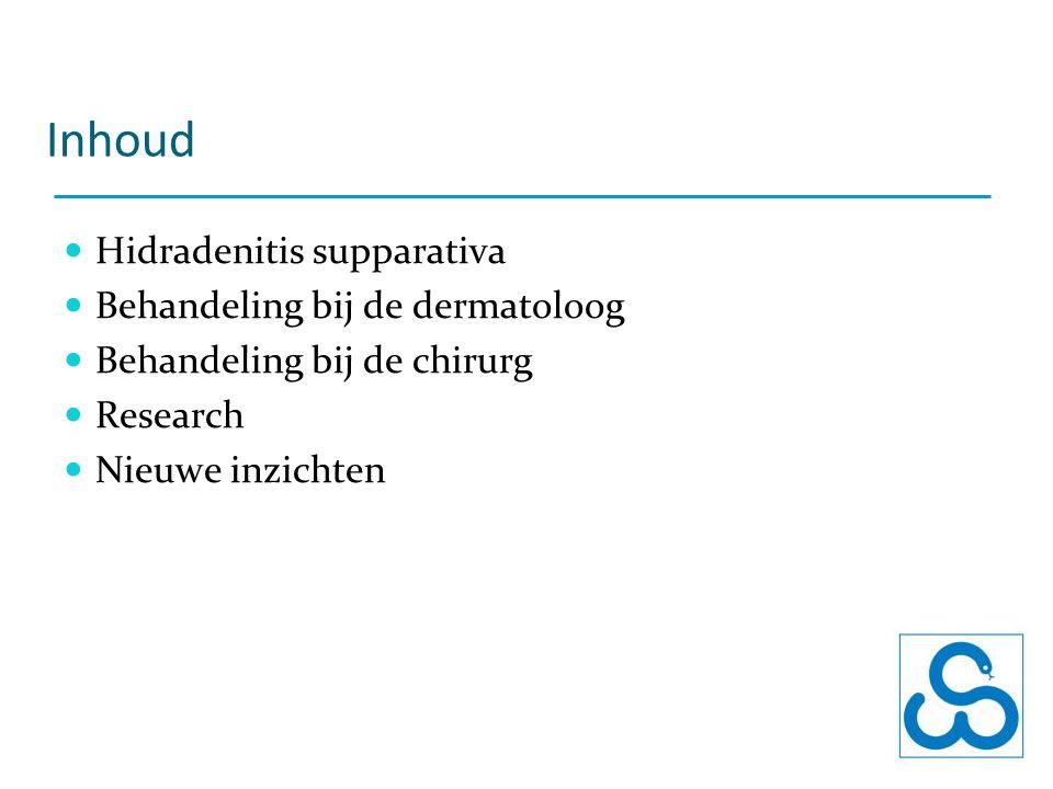 Inhoud Hidradenitis supparativa Behandeling bij de dermatoloog