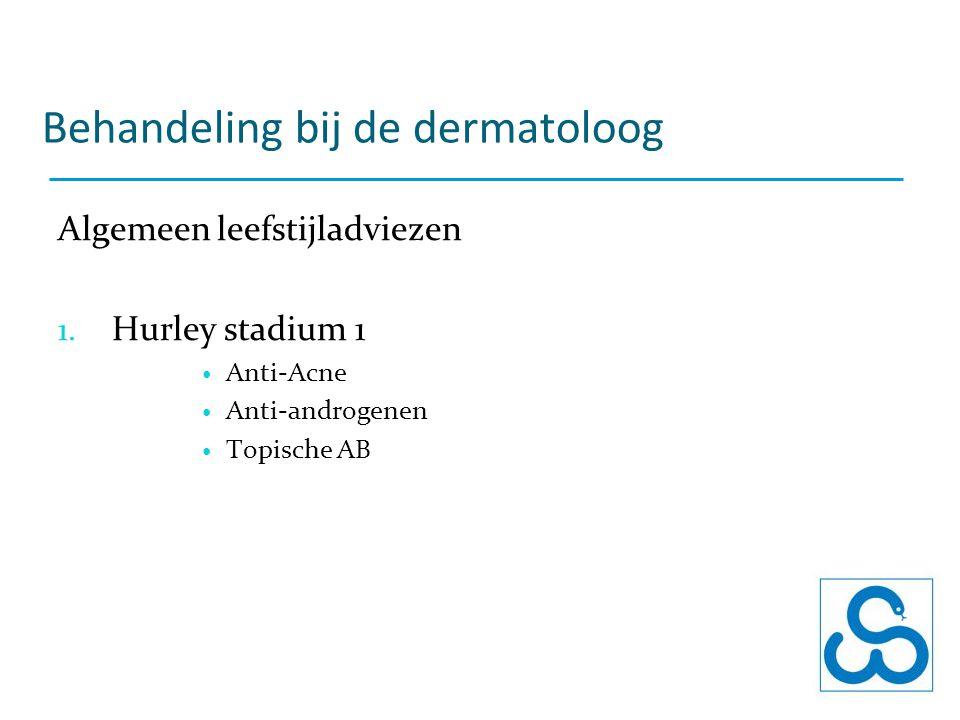 Behandeling bij de dermatoloog