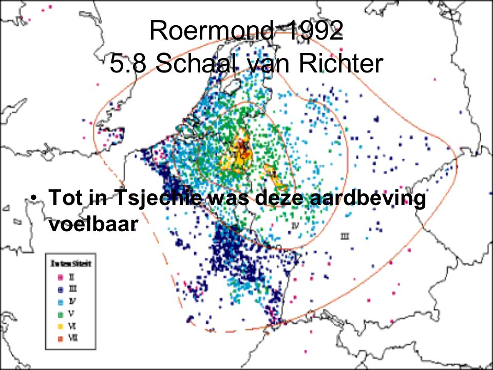 Roermond 1992 5.8 Schaal van Richter
