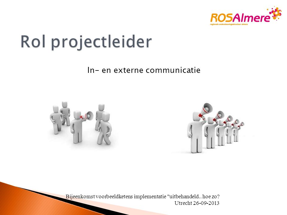In- en externe communicatie