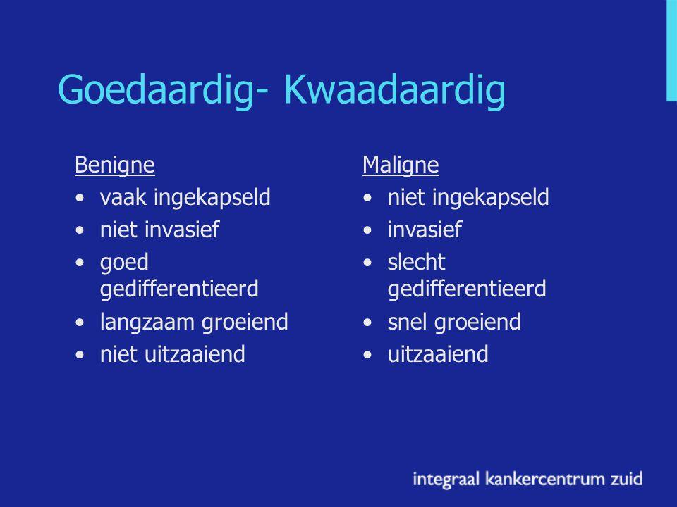 Goedaardig- Kwaadaardig