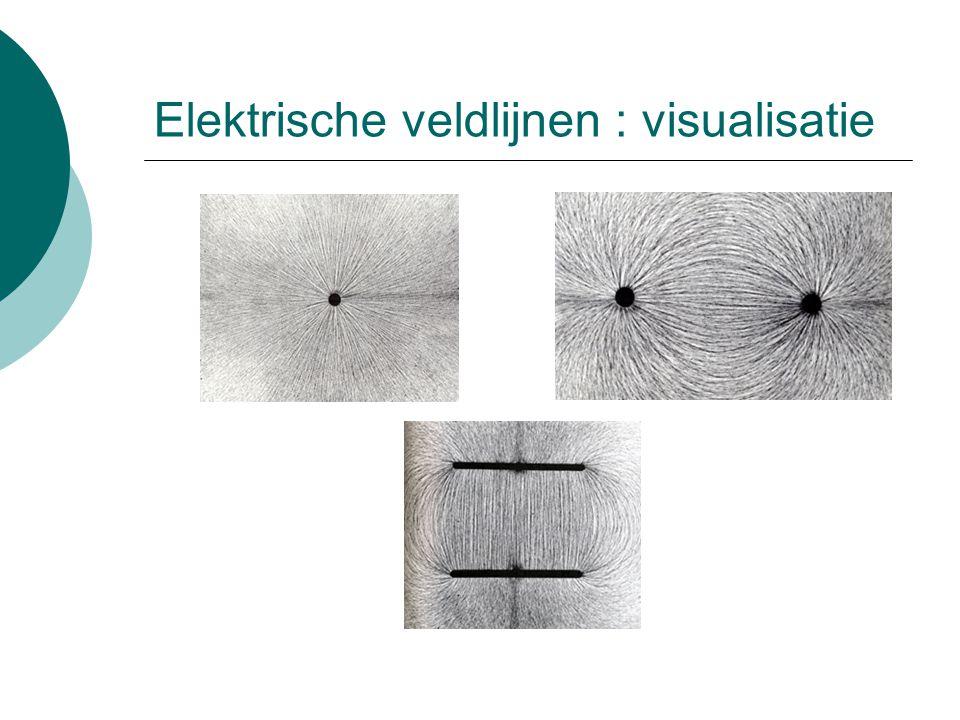 Elektrische veldlijnen : visualisatie