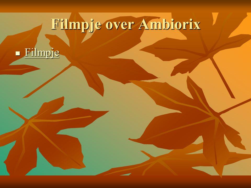 Filmpje over Ambiorix Filmpje