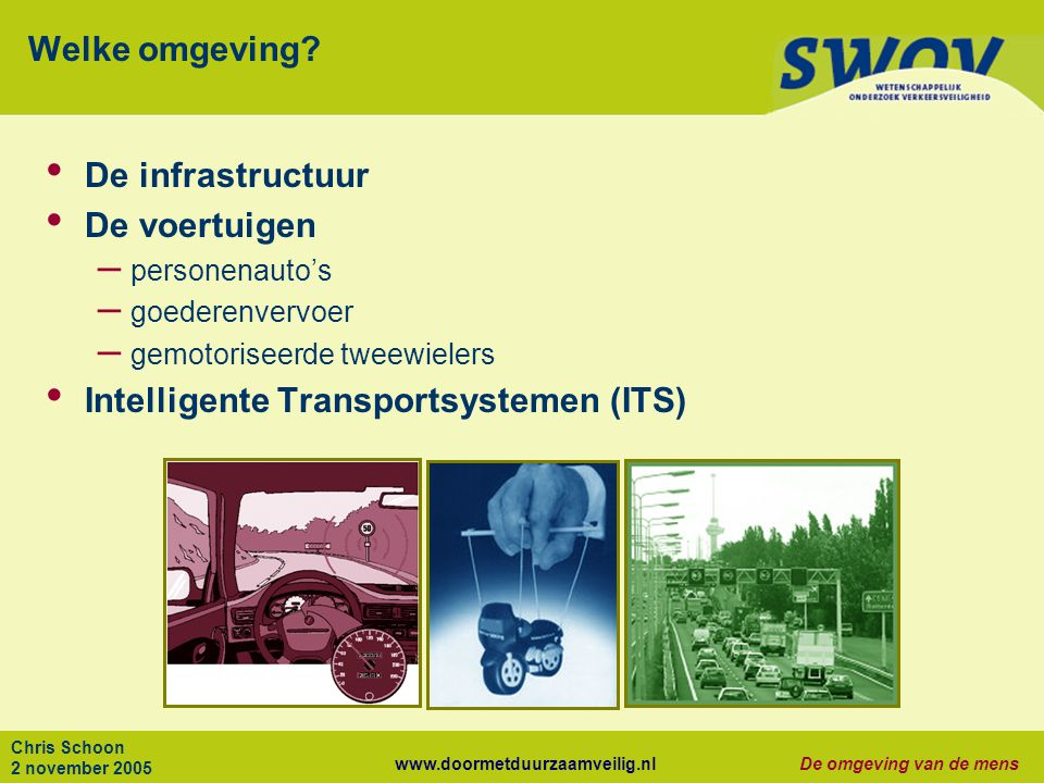 Intelligente Transportsystemen (ITS)