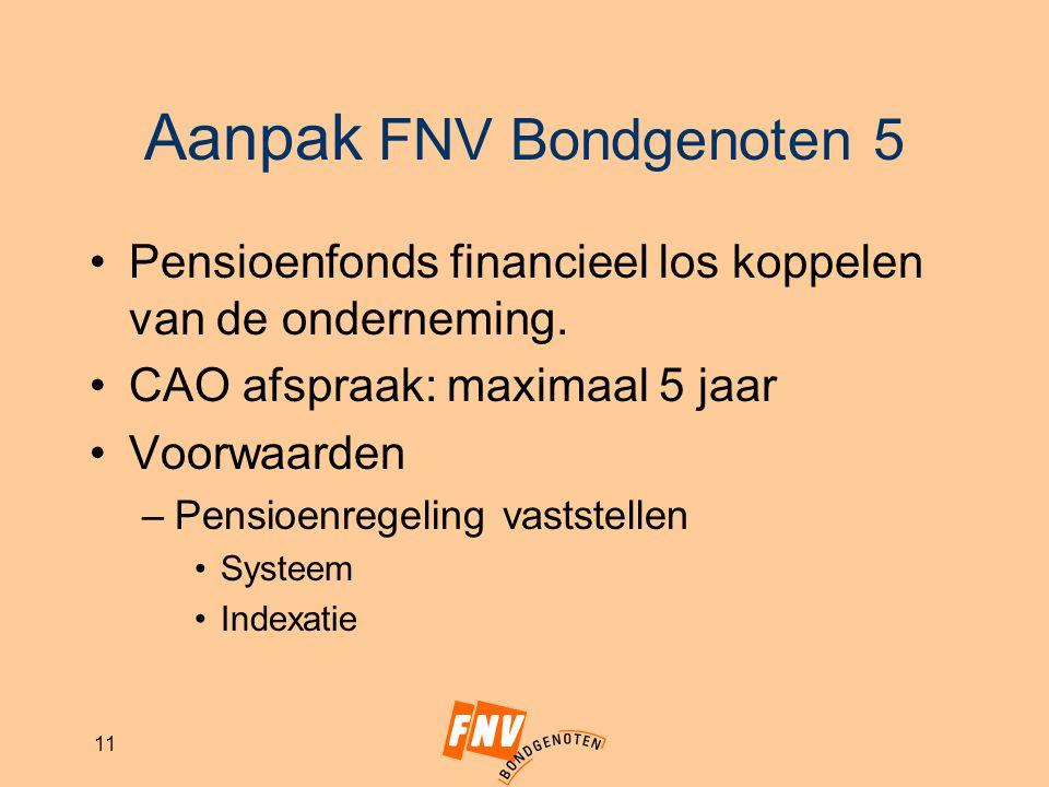 Aanpak FNV Bondgenoten 5