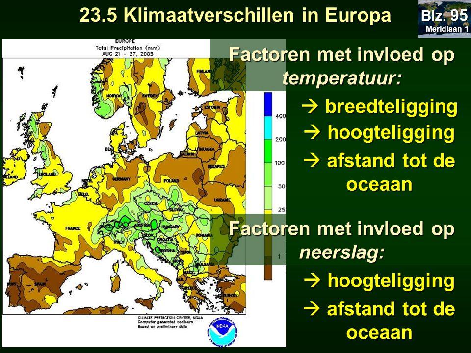 23.5 Klimaatverschillen in Europa