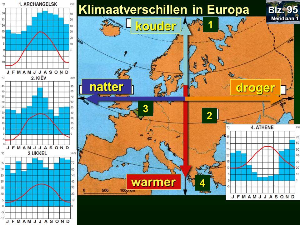 23.5 Klimaatverschillen in Europa 23.23 Europa temperatuur neerslag